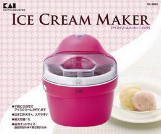 貝印 アイスクリームメーカー DL-5928 ピンク.png